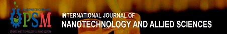 International Journal of Nanotechnology and Allied Sciences