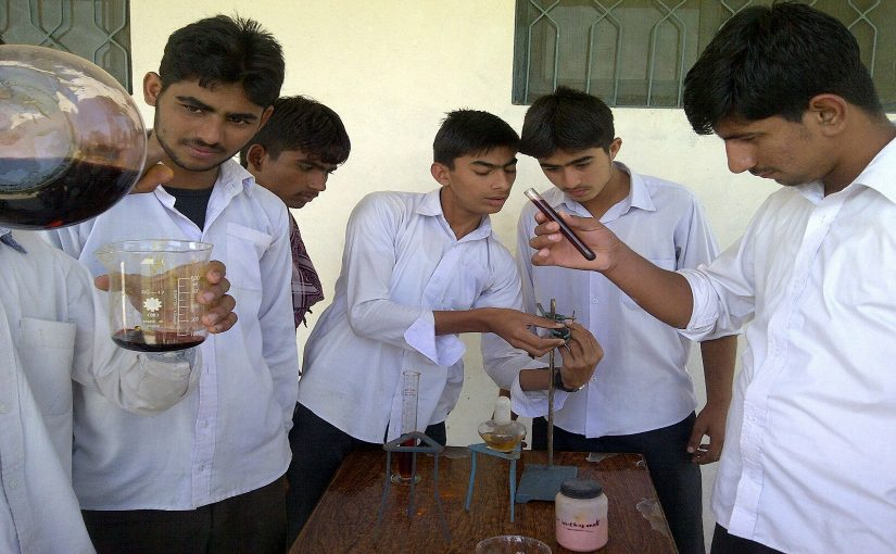 Science lab awareness classes in various schools by PSM team members